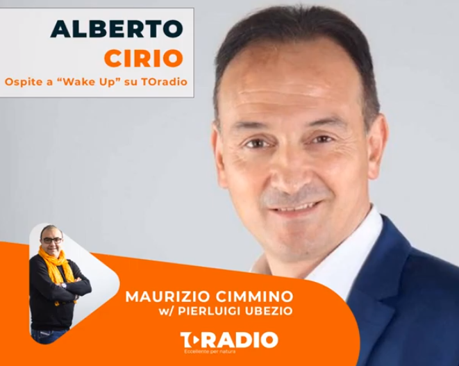 Intervista ad Alberto Cirio