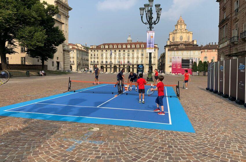 Nitto Atp Finals si parte con il Tennis in piazza